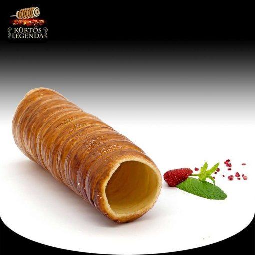Vaníliás ízesítésű - eredeti méretű kürtőskalács desszert