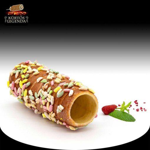 Zizis ízesítésű - eredeti méretű kürtőskalács desszert