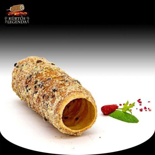 Zserbós ízesítésű - eredeti méretű kürtőskalács desszert