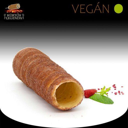 Kakaós ízesítésű - eredeti méretű Vegán kürtőskalács desszert
