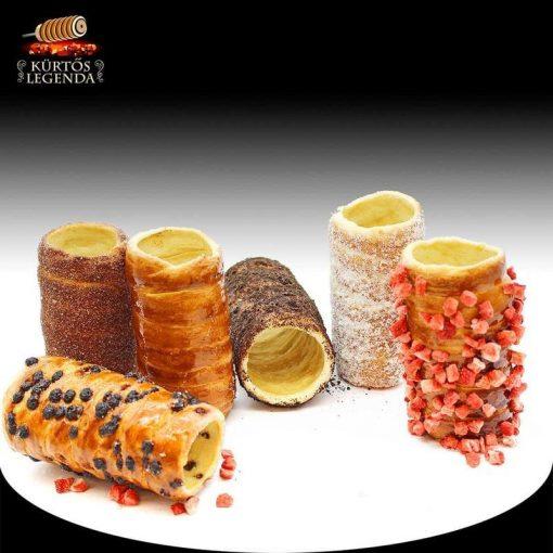 Szabadon választható ízek - 6 db snack méretű kürtőskalács desszertélmény