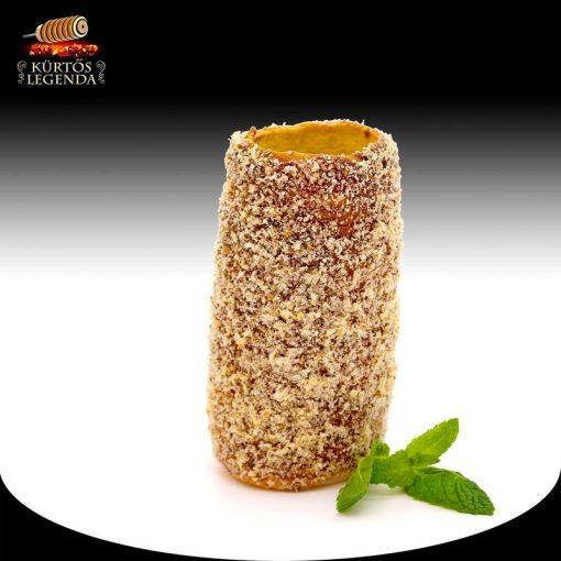 Diós ízesítésű - snack méretű kürtőskalács desszertélmény