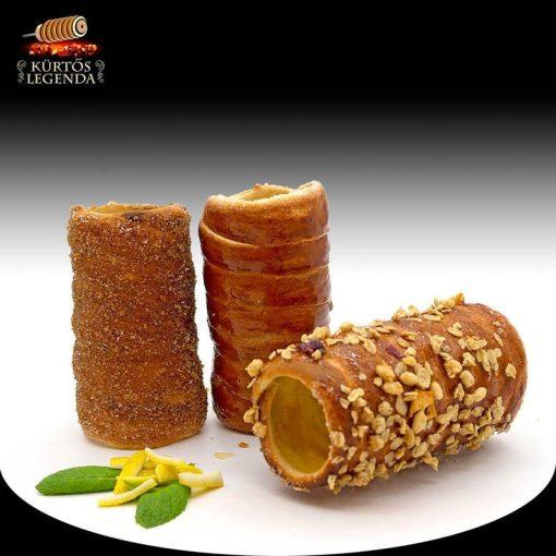 Tavasz (Fahéjas, Vaníliás, Karamellás magvas) - 3 db különböző ízű kürtőskalács