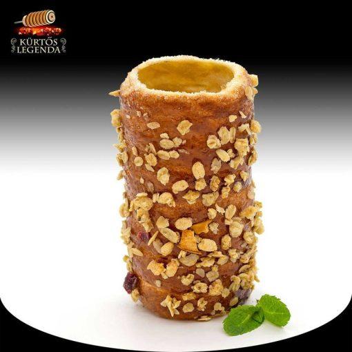 Crispy ízesítésű - snack méretű kürtőskalács desszertélmény