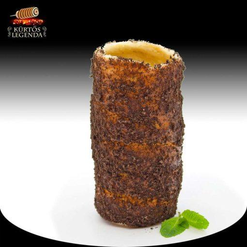 Oreós ízesítésű - snack méretű kürtőskalács desszertélmény