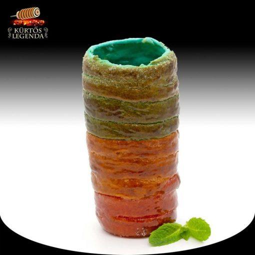 Unikornis ízesítésű - snack méretű kürtőskalács desszertélmény