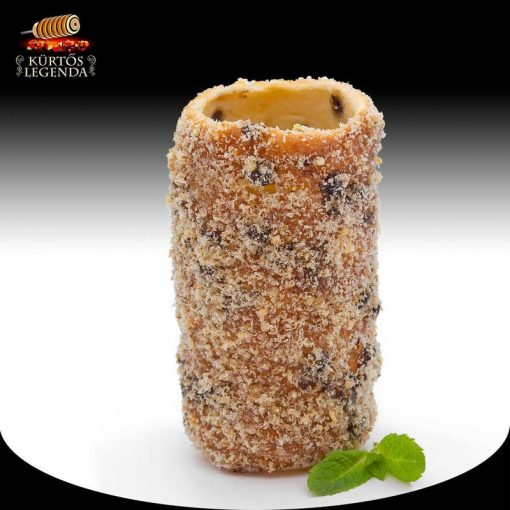Zserbós ízesítésű - snack méretű kürtőskalács desszertélmény
