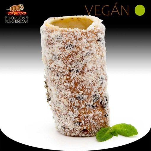 Bounty ízesítésű - snack méretű Vegán kürtőskalács desszertélmény