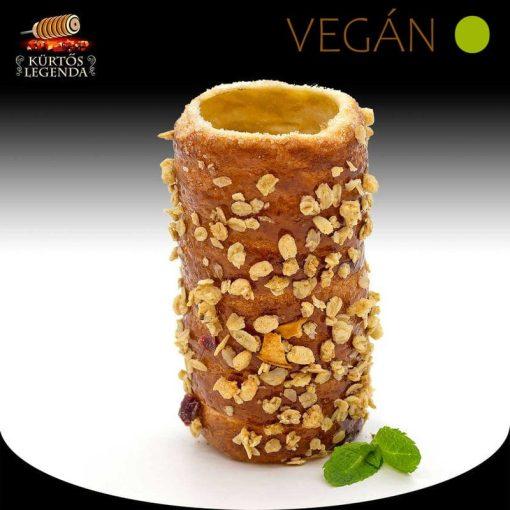 Crispy ízesítésű - snack méretű Vegán kürtőskalács desszertélmény