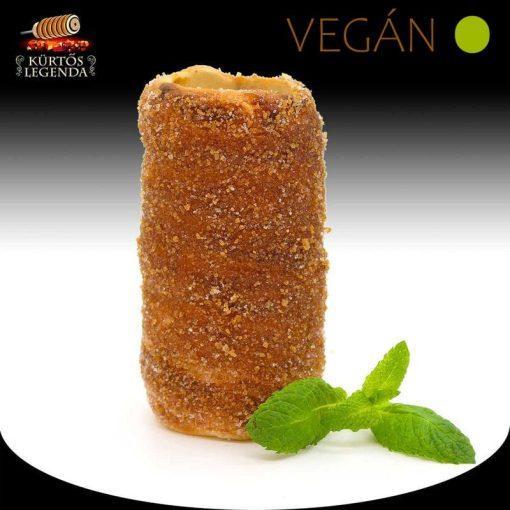 Fahéjas ízesítésű - snack méretű Vegán kürtőskalács desszertélmény