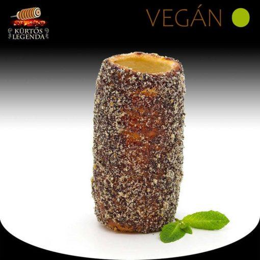 Flódnis ízesítésű - snack méretű Vegán kürtőskalács desszertélmény