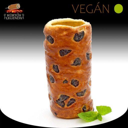 Möggyes ízesítésű - snack méretű Vegán kürtőskalács desszertélmény